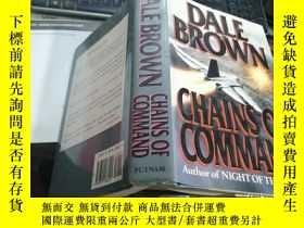 二手書博民逛書店DALE罕見BROWN CHAINS OF COMMANDY3701 DALE BROWN CHAINS OF