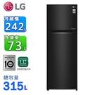 LG樂金315公升直驅變頻上下門冰箱 GN-L397BS~含拆箱定位