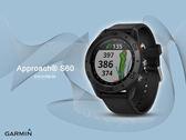 【時間道】GARMIN -預購- Approach® S60 高爾夫GPS觸控式智能腕錶 - 紳士黑 (免運費)