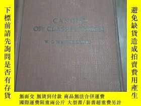 二手書博民逛書店CANONS罕見OF CLASSIFICATION(分類法)Y6
