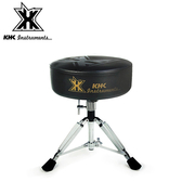 【敦煌樂器】KHK DT1000C-BOK 強化鼓椅 黑底黑標款