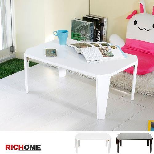 【RICHOME 】❤TA397❤《亮面折腳茶几桌》邊桌   小方桌   下午茶桌    點心桌    寫字桌