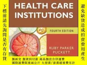 二手書博民逛書店Foodservice罕見Manual for Health Care Institutions, 4th Edi