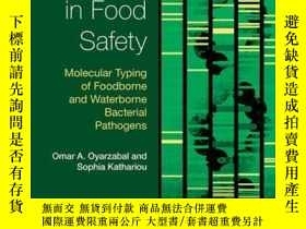 二手書博民逛書店DNA罕見Methods in Food Safety: Molecular Typing of Foodborn