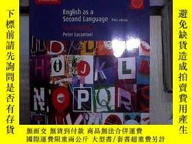 二手書博民逛書店ENGLISH罕見AS A SECOND LANGUAGE THIRD EDITION COURSEBOOK 1