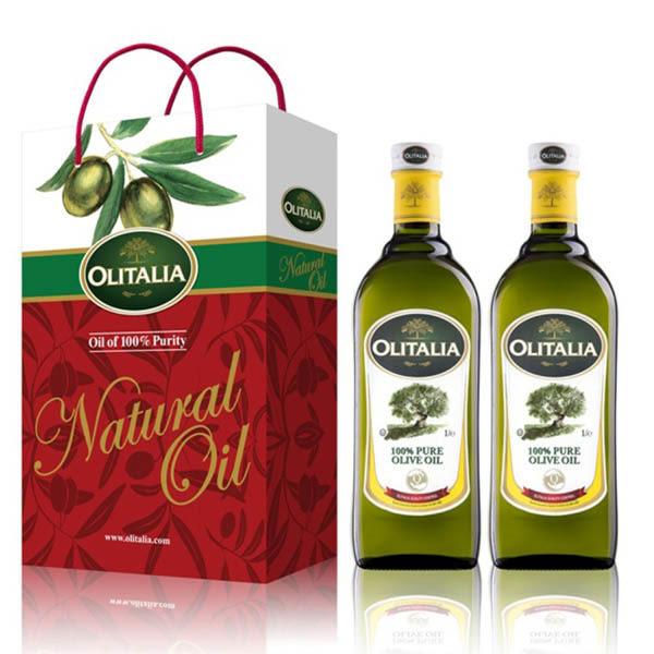 Olitalia奧利塔純橄欖油禮盒組(1000mlx2瓶)