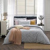 【BBL Premium】純淨香草100%精梳棉.印花雙人兩用被床包組雙人