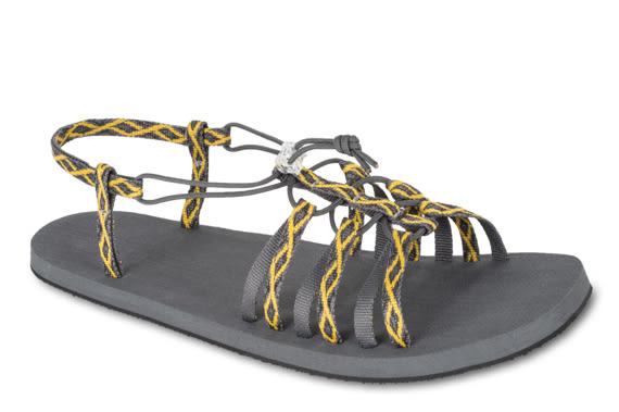 Lizard 巴奇娃 防滑底輕量涼鞋 LI11561 EY黃彩紋 女款 義大利製 水陸鞋 織帶涼鞋【易遨遊戶外用品】