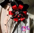 來福,Y1誇張花朵主持演出胸針胸花結婚新郎領結表演,售價350元