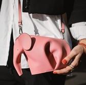 ■現貨在台■專櫃75折■ 全新真品 Loewe 迷你大象斜背包 粉色