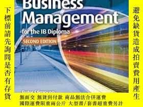 二手書博民逛書店Business罕見Management For The Ib Diploma CoursebookY3077