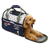 【PET PARADISE 寵物精品】SNOOPY 【摺疊包】深藍露營去 手提肩背側背外出包 (4~8KG) 寵物外出包