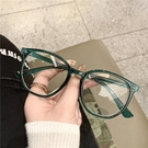 眼鏡框 自留款素顏神器韓國復古豹紋平光鏡女防輻射護眼顯瘦茶色眼鏡鏡框 寶貝寶貝計畫 上新