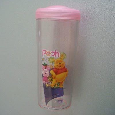 小熊維尼隨行杯(500ml-粉紅色)/環保杯/隨手杯/休閒杯