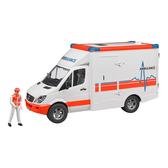 德國BRUDER  賓士救護車