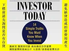 二手書博民逛書店The罕見Successful Investor Today: 14 Simple Truths You Must