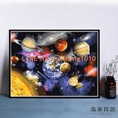 數字油彩畫diy油畫手繪填色客廳裝飾畫星空畫宇宙兒童畫【毒家貨源】