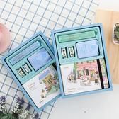 Joytop悅木手帳本套裝小清新創意韓版可愛手賬本卡通彩頁簡約 金曼麗莎