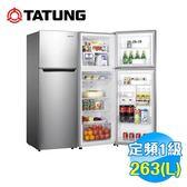 大同 Tatung 263公升雙門冰箱 TR-B263HT