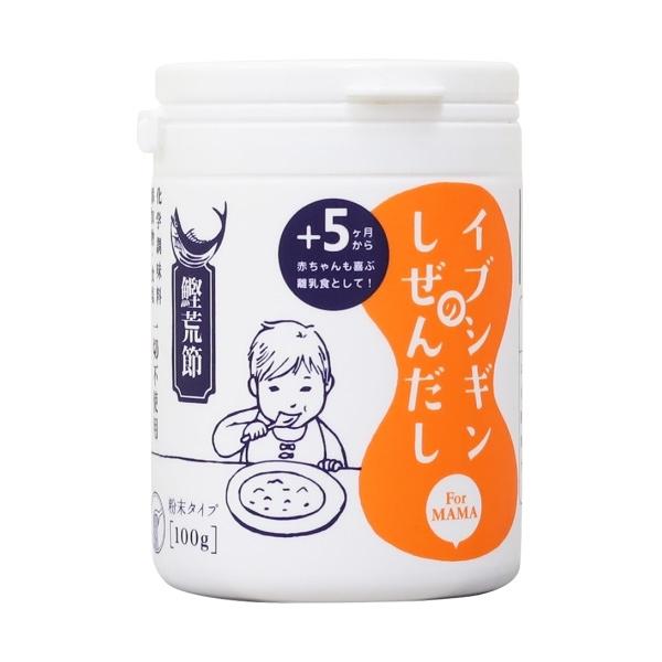 日本【ORIDGE】無食鹽昆布柴魚粉(100g/罐) #5個月以上寶寶可食用 #副食品 #低鈉