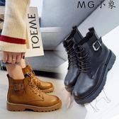 馬丁鞋-馬丁靴韓版單靴個性鞋子