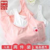女童小背心發育期文胸中大童小學生內衣女純棉背心 貼身衣物,不退不換  布衣潮人