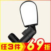 迷你可調自行車黑色後視鏡 後照鏡 (1入)【AE10361】聖誕節交換禮物 99愛買生活百貨