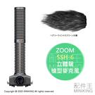 日本代購 空運 ZOOM SSH-6 立體聲 槍型 麥克風 附防風毛罩 適用 H5 H6 Q8 F4 F8 U-44
