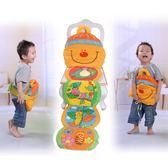 寶寶布書 LALABABY/拉拉布書 兒童玩具抱枕頭書收納包 寶寶多功能抱枕包 芭蕾朵朵