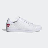 J-adidas Stan Smith 白 紅 男鞋 女鞋 運動鞋 情人節 愛心 休閒鞋 FW6390