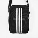 adidas 斜背包 Pltora 黑 白 男女款 休閒 側背包 背包 三條線 【ACS】 S02196