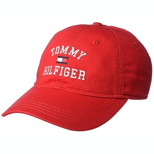 Tommy Hilfiger 湯米棒球帽(紅色)