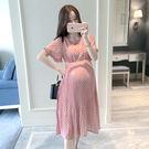 新款時尚簡潔孕婦裝 連衣裙 洋裝60