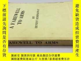 二手書博民逛書店A罕見Farewell to Arms(永別了,武器) 英文原版
