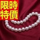 珍珠項鍊情人節禮物飾品自然典雅-佳人精美俏麗母親節禮物首飾53pe1【巴黎精品】