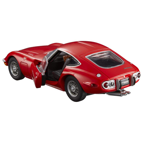 TOMICA PREMIUM RS豐田 2000GT 紅色 TM14836 多美小汽車