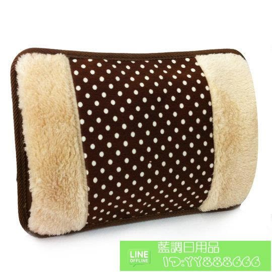 顏色隨機 防爆熱水袋 毛絨暖手寶雙插手電熱水袋 充電暖水袋 需註