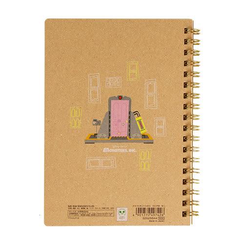 《sun-star》皮克斯童趣插畫系列B6線圈筆記本(怪獸電力公司)★funbox生活用品★_UA49742