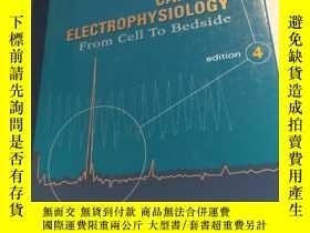 二手書博民逛書店Cardiac罕見Electrophysiology: From