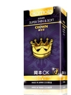 岡本 CROWN皇冠型超薄柔軟衛生套10入 岡本OK保險套 Super THIN & SOFT