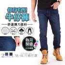 台灣製造 精品質感 YKK拉鍊 素面 單寧中直筒牛仔褲 兩色【CS衣舖】#308