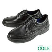 【GOLF】手工氣墊舒適紳士鞋 黑色(GF2215-BL)