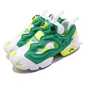 【六折特賣】Reebok 休閒鞋 InstaPump Fury OG MU 白 綠 男鞋 運動鞋 Court Victory【ACS】 EH1787
