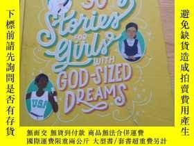 二手書博民逛書店30罕見Stories for Girls with God-sized DreamsY284058 Harr