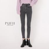 限量現貨◆PUFII-牛仔褲 三釦高腰彈力牛仔窄管褲-1103 現+預 冬【CP19318】