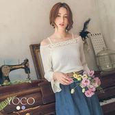 東京著衣【YOCO】優雅美人露頸針織上衣-S.M.L(181357)