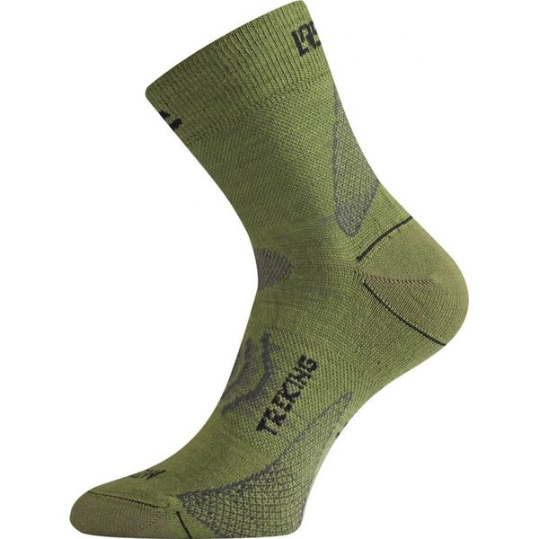 Lasting 捷克 TNW踝底透氣健行襪-短統 TNW 698軍綠 健行襪 登山襪 快乾襪 [易遨遊]