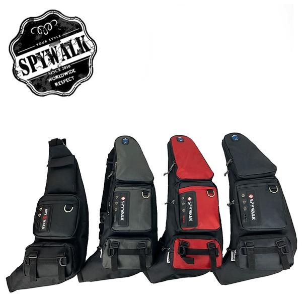 SPYWALK 多夾層單肩包/彎包 NO:S6019/S6134