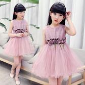 花童禮服夏裝女孩連衣裙3-8歲小孩子夏季禮服 JD2318【KIKIKOKO】
