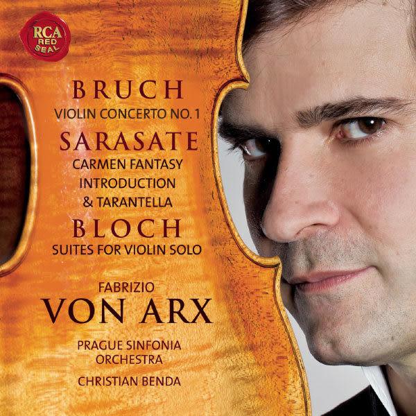 法布里奇奧 馮亞克斯 CD 義大利小提琴家法布里奇奧.馮.亞克斯 Fabrizio Von Arx (音樂影片購)